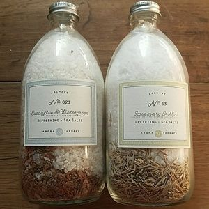 Other - Two Aroma Therapy Sea Salts from Archive